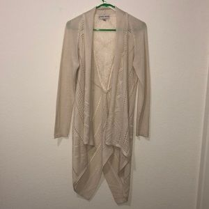 Knox Rose cream color cardigan